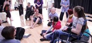 Lisa Simpson Inclusive Dance: Collaborations - Ignite Choreographic Lab, June 2011